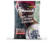 Каша Femine 3 злака с Черникой и Протеином