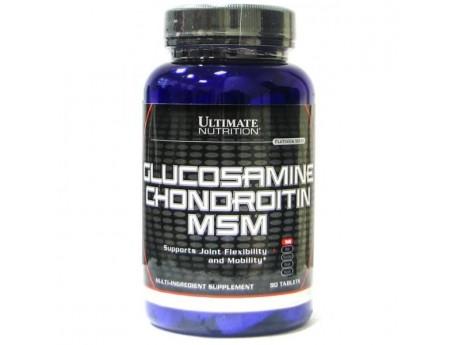 Хондропротектор Ultimate Nutrition Glucosamine Chondroitin MSM
