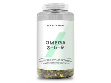 Omega 3-6-9 My Protein (120 капсул)
