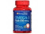 Omega-3 Fish Oil 1000 мг (100 капсул)