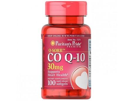 Q-Sorb Co Q-10 30 мг (100 капсул)