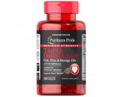 Maximum Strength Triple Omega 3-6-9 Fish Flax and Borage Oils