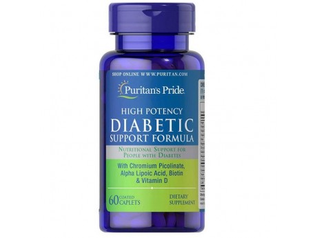 Diabetic High Potency Support Formula (60 капсул)