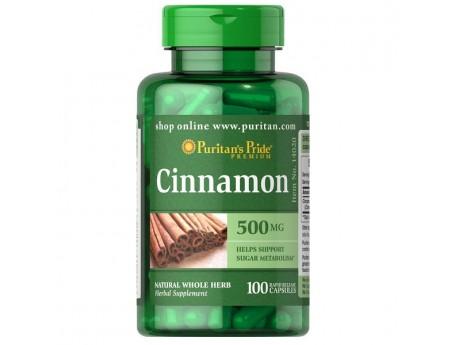 Cinnamon 500мг (100 капсул)