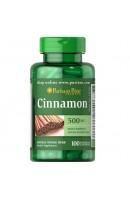 Cinnamon 500мг Puritan's Pride (100 капсул)
