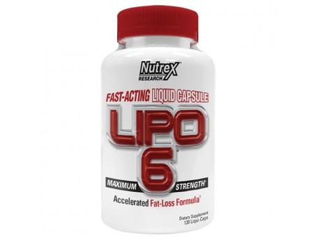 Lipo-6 Maximum Strengtn 120 капсул