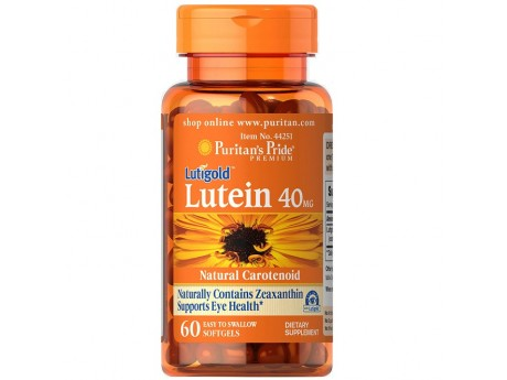 Lutein 20mg with Zeaxanthin (30 капсул)