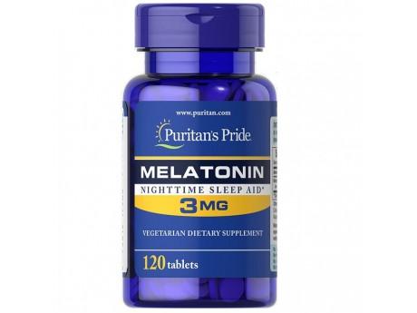 Melatonin 10 мг Puritan Pride (120 капсул)