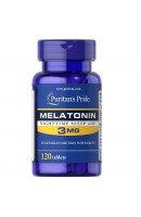 Melatonin 3 мг Puritan Pride (120 капсул)