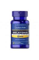 Melatonin 5 мг Puritan Pride (60 капсул)
