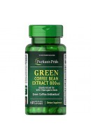 Green Coffee Bean Extract 800 мг Puritan's Pride (60 капсул)
