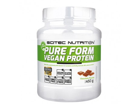 Pure Form Vegan Protein Scitec Nutrition 450 г