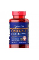 Omega-3 Fish Oil 1360 мг Triple Strength (60 капсул)