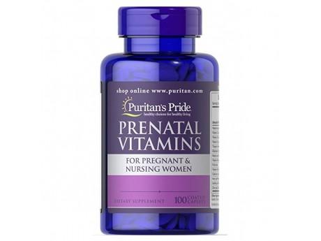 Prenatal Vitamins 100 таб