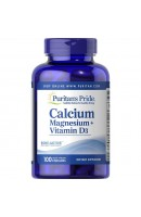 Calcium Magnesium with vitamin D (100 капсул)