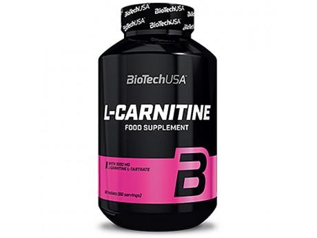 Жиросжигатель L-Carnitine 1000 BioTech USA (30 таблеток)
