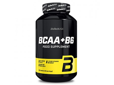 BCAA + B6 BioTech (200 таблеток)