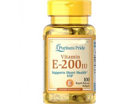 Vitamin E 200IU (100 капсул)