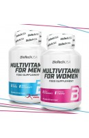 Акция. Витамины для Мужчин и Женщин BioTech USA
