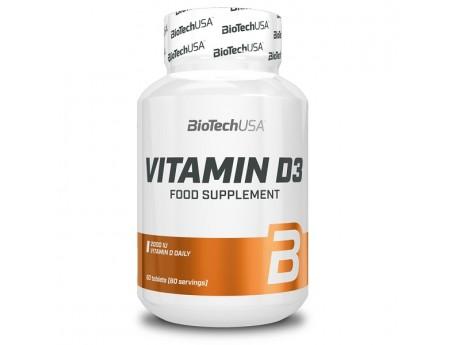 Vitamin D3 (60 капсул) BioTech