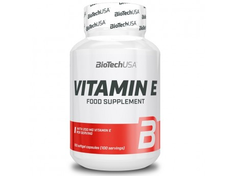 Vitamin E BioTech USA (100 таблеток)