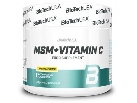 MSM + 1500 Vitamin C BioTech