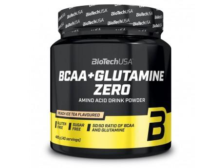 BCAA + Glutamine ZERO (480 грамм) Bio Tech USA