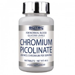 Жиросжигатель Chromium Picolinate Scitec Nutrition (100 капсул)