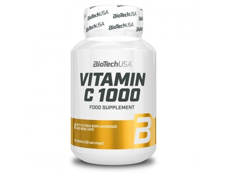 Витамин С 1000 BioTech USA