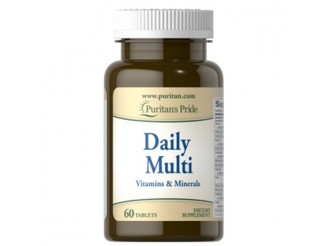 Daily Multivitamin Puritan Pride (60 таблеток)