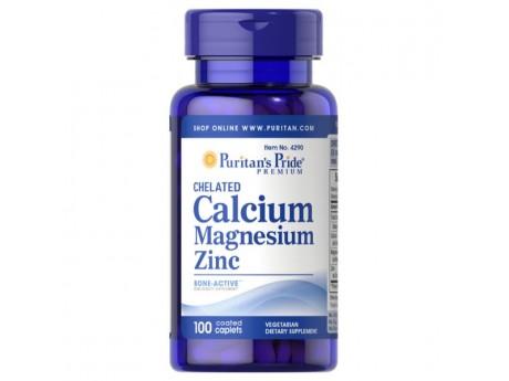 Chelate Calcium Magnesium Zinc (100 таблеток)