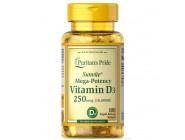Витамин D3 250 мкг 10000 IU (100 капсул)