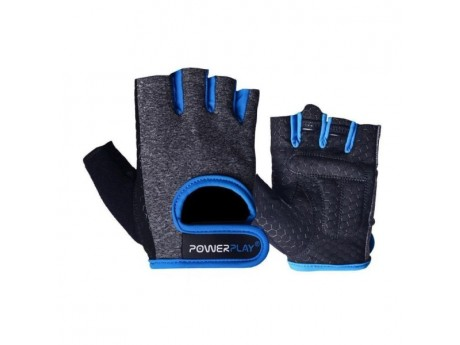 Перчатки Power Play Grey Blue (M)