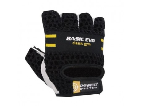 Перчатки Power System Evo Black/Yellow (S)