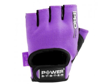 Перчатки для фитнеса Power System Purple