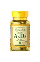 Vitamins A та D 5000/400 IU (100 капсул)