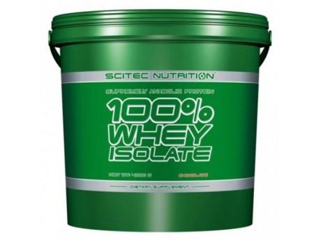 100% WHEY ISOLATE Scitec Nutrition 4кг
