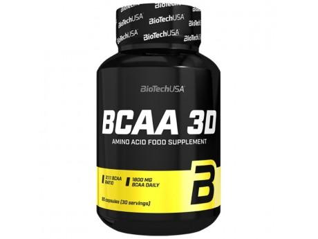 BCAA 3D BioTech USA (90 капсул)