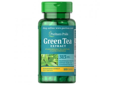 Экстракт Зеленого Чая Green Tea Standardized Extract 315 мг