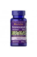 Resveratrol 50 мг Puritan Pride (60 капсул)