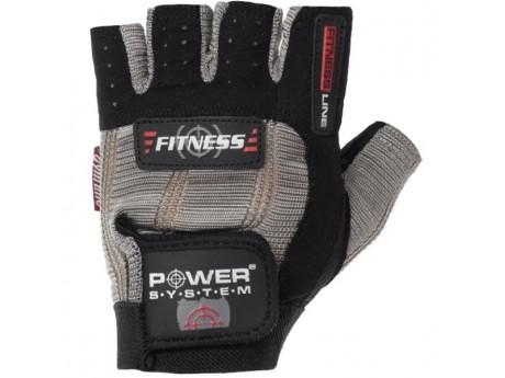 Перчатки Power System Black/White (L)