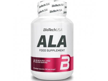 Alpha Lipoic Acid BioTech USA (50 капсул)