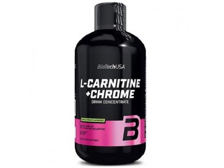 Жидкий L-CARNITINE+CHROM 500мл