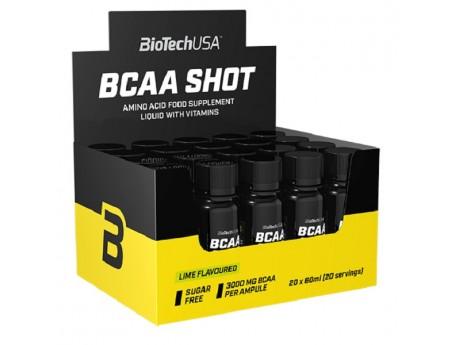 BCAA Shot ZERO Biotech USA (20 шт по 60 мл)