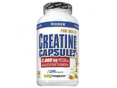 Creatine Capsules Weider (200 капсул)