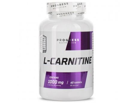L-Carnitine 1000мг Progress Nutrition (60 таблеток)