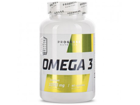 Omega 3 Progress Nutrition (60 капсул)