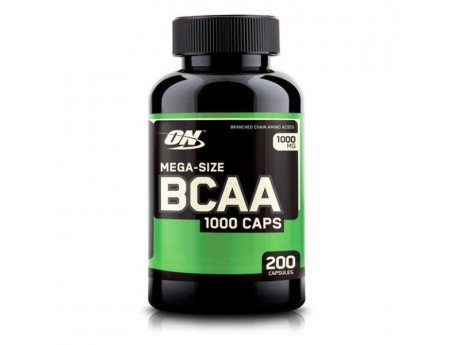 BCAA 1000 Optimum Nutrition (200 капсул)