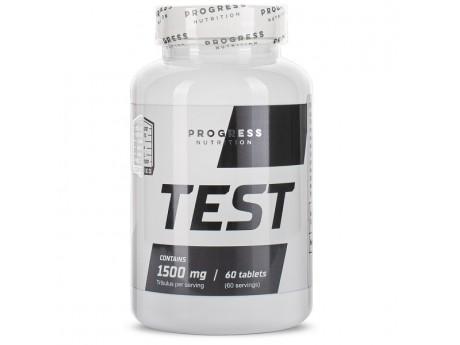 Бустер тестостерона TEST 1500 mg Progress Nutrition (60 таблеток)