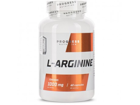 L-arginine Progress Nutrition (60 капсул)